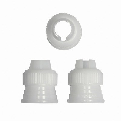PME Coupler/Adaptor for Piping Bag -Set of 3 -Προσαρμογέας για Σακούλα Κορνέ 3 τεμ