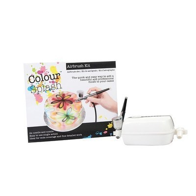 Colour Splash - Airbrush Kit - Σετ Αερογράφου