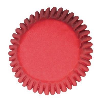 Cake Star Cupcake Cases Plain Red -Κόκκινες Θήκες Ψησίματος για Cupcakes/muffins -50τεμ