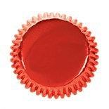 Culpitt Cupcake Cases -METALLIC RED -Κόκκινες Αλουμινένιες Θήκες Ψησίματος -Μεταλλικό Κόκκινο 45 τεμ