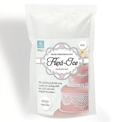 Squires Kitchen Edible Lace Flexi-Ice -White Μείγμα για δαντέλα λευκό 500γρ