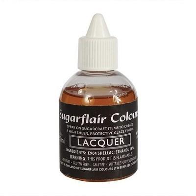 Sugarflair Airbrush Colour -LACQUER 60ml -βρώσιμο βερνίκι Αερογράφου