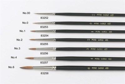 Culpitt Sable Artist Brush no.6 -Πινέλο με Mαλακές Tρίχες