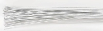 Culpitt - Floral Wire White 28gauge - Σύρμα Λουλουδιών - Λευκό - 50τεμ/πακέτο - 0.32χιλ