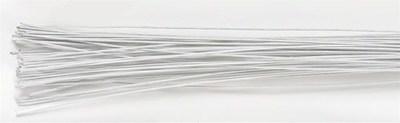Culpitt - Floral Wire White 26gauge - Σύρμα Λουλουδιών - Λευκό - 50τεμ/πακέτο - 0.40χιλ