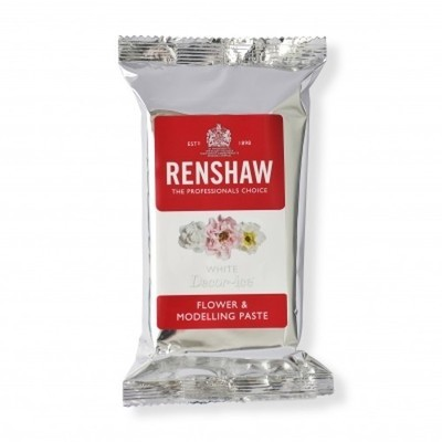By Renshaw -Professional Flower and Model Paste White - Επαγγελματική Πάστα Μοντελισμού Λευκή - 250γρ