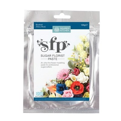 Squires Kitchen -Flower Paste BLUEBELL (Navy Blue)-Πάστα Λουλουδιών 100γρ -Σκούρο Μπλε