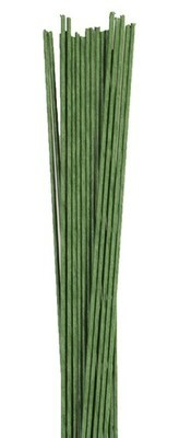 Culpitt - Floral Wire Dark Green 18gauge - Σύρμα Λουλουδιών - Σκούρο Πράσινο - 20τεμ/πακέτο - 1.02χιλ