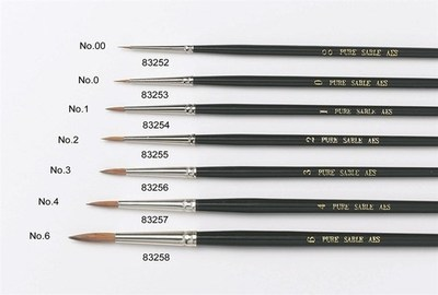 Culpitt Sable Artist Brush no.00 -Πινέλο με Mαλακές Tρίχες