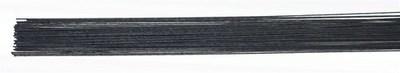 SALE!!! Culpitt - Floral Wire Black 24gauge - Σύρμα Λουλουδιών - Μαύρο - 50τεμ/πακέτο - 0.51χιλ