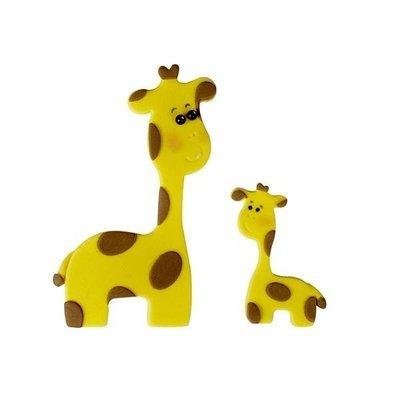 FMM Cutters -Mummy & Baby GIRAFFES -Κουπάτ Καμηλοπάρδαλη Μαμά και Μωρό 2 τεμ