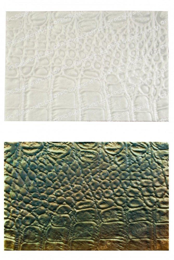 FPC Silicone Texture Mat -ALLIGATOR SKIN -Καλούπι με Υφή Δέρματος Αλιγάτορα