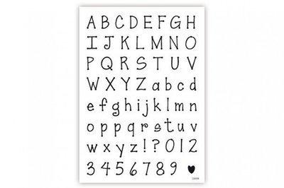 impressit™ Alphabet & Numbers Dotty - Αλφάβητος & Νούμερα - Ντότι