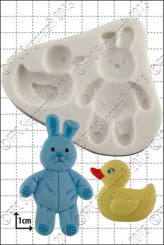 """FPC  -""""Duck & Bunny"""" -Καλούπι"""