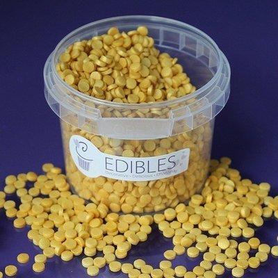 Purple Cupcakes Confetti -GOLD RUSH SHIMMER Sequins -Κονφετί Γυαλιστερό Χρυσό 70γρ