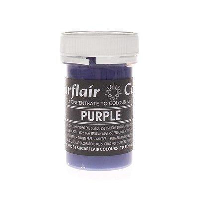 Sugarflair Paste Colours -PURPLE -Χρώμα Πάστα -Μωβ