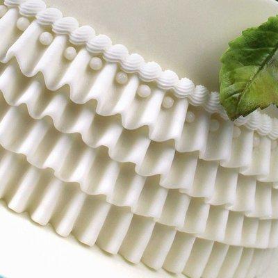 Katy Sue Mould by Ceri Griffiths -Medium Ruffle -Καλούπι Μεσαία Σούφρα