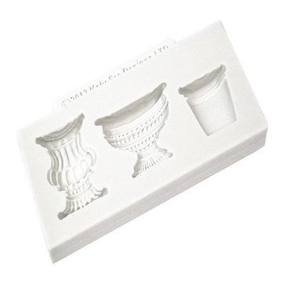 Katy Sue Silicone Mould -POTS and URNS -Καλούπι Γλάστρες