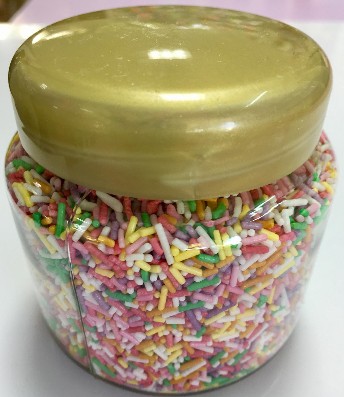 #Sprinkles -Τρουφα  -Ανάμεικτη -230γρ Multi-Coloured Jimmies