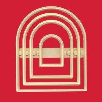 SALE!!! FMM - Arches Cutter 4pcs - Κουπάτ Πύλες - 4τεμ/πακέτο - Περίπου 50 + 100 + 125 + 150χιλ