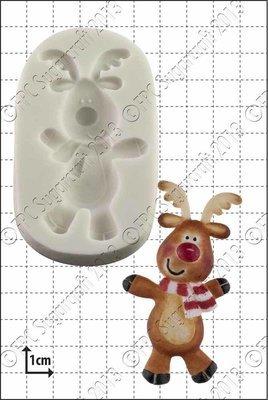 FPC - Dancing Rudolph Silicone Mould - Καλούπι Ρούντολφ που Χορεύει