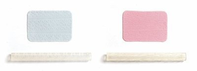 JEM Tools -2 Patterned Rolling Pins -FABRIC TEXTURE & FLORAL DRAPE -Ανάγλυφοι Πλάστες Ύφασμα & Λουλούδια 2 τεμ