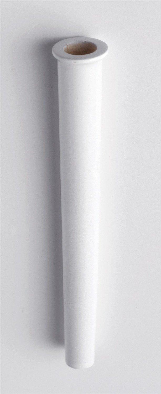 By Culpitt -Posy Pick -SMALL WHITE -Μικρές Βάσεις Λουλουδιών 6 τεμ