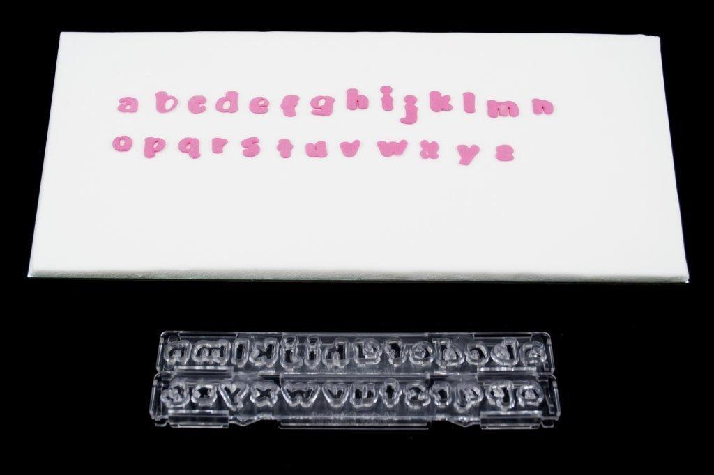 """SALE!!! Clikstix - """"Mini"""" Plunger Cutters Lowercase Letters 17mm - Κουπάτ με Εκβολέα Μικρά Γράμματα """"Mini"""" - 17χιλ"""