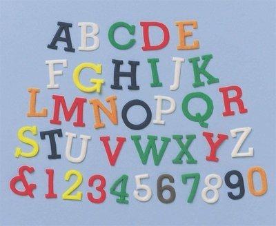 FMM Alphabet Tappit -UPPERCASE & Numbers -Κουπάτ Λατινική Αλφάβητο & Αριθμοί