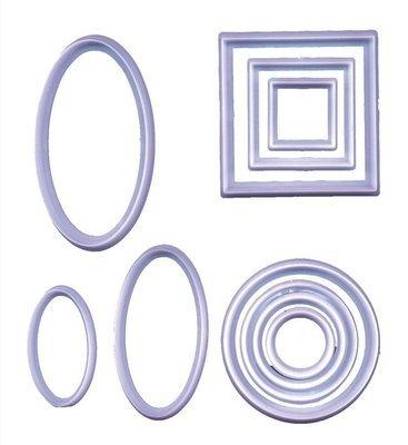 FMM Cutters -GEOMETRIC SET -Γεωμετρικά Κουπάτ 10 τεμ