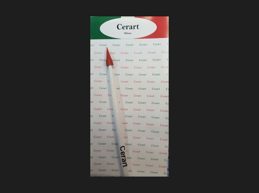 Cerart Point Shapers (hard) White Handle -Μυτερό Εργαλείο με Σκληρή Μύτη για Σχεδιασμό -Λαβή Λευκού Χρώματος