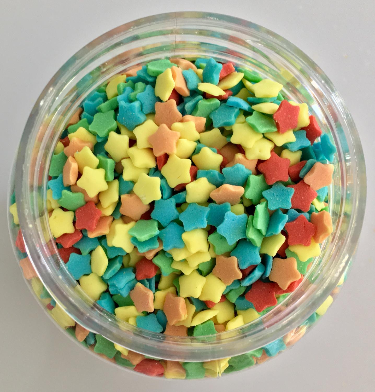 #Sprinkles -Coloured Stars -Κονφετί Αστεράκια -150γρ