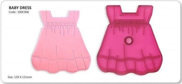 JEM Cutter -BABY DRESS -Κουπάτ Μωρουδιακό Φόρεμα
