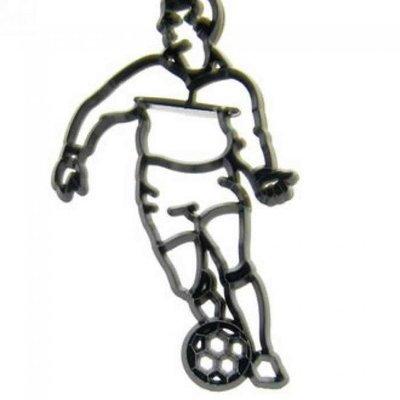 Patchwork Cutters -FOOTBALLER - Κουπάτ Ποδοσφαιριστής - 12x8εκ