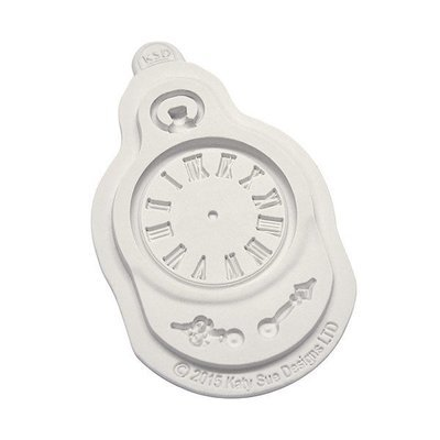 Katy Sue Silicone Mould -CLOCK -Καλούπι Ρολόϊ