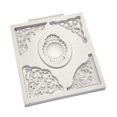 Katy Sue Mould -Decorative Corner Collection -Καλούπι με Σχέδιο Γωνίες