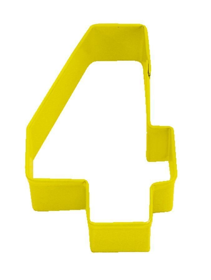 by AH -Cookie Cutter -NUMBER '4' -Κουπάτ νούμερο '4'     8εκ