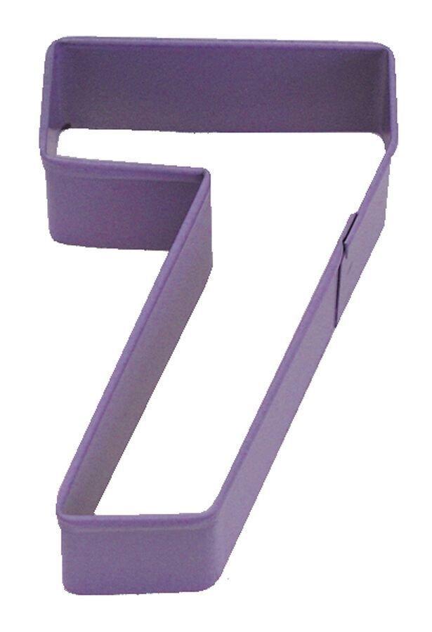 By AH -Cookie Cutter -NUMBER '7' -Κουπάτ νούμερο '7'      7.5εκ