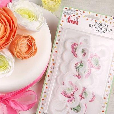 FMM Flower Cutters -EASIEST RANUNCULUS -Κουπάτ Άνθος 2 τεμ
