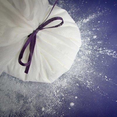 Purple Cupcakes Cornflour Pouch - Πουγκί με Κόρνφλαουερ