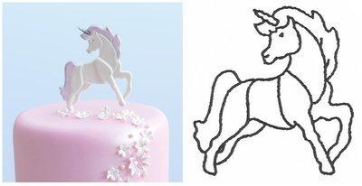 Patchwork Cutters - Unicorn - Κουπάτ Μονόκερος - 9x8εκ