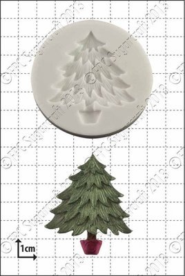 FPC -'Xmas Tree' Silicone Mould -Καλούπι