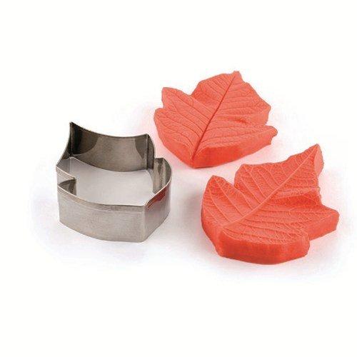 Pavoni - Mould & Cutter Set Poinsettia Flower - Κουπάτ & Ανάγλυφο Καλούπι Ποινσέτια/Αλεξανδρινό