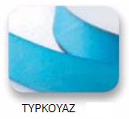 Ribbons - 10mm Satin Ribbon Turquoise 50m - Κορδέλα Σατέν Τιρκουάζ