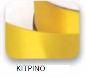Ribbons - 10mm Satin Ribbon Yellow 50m - Κορδέλα Σατέν Κίτρινη