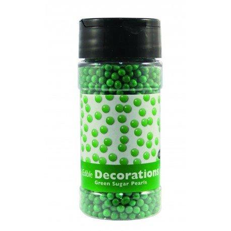 PME - Green Sugarballs - Πράσινες Ζαχαρένιες Μπιλίτσες - 4χιλ - 100γρ