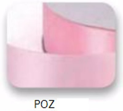 Ribbons -10mm Satin Ribbon Pink 50m - Κορδέλα Σατέν Ροζ