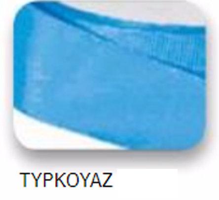 Ribbons -15mm Ribbed Turquoise 22m - Κορδέλα Γκρο Τιρκουάζ