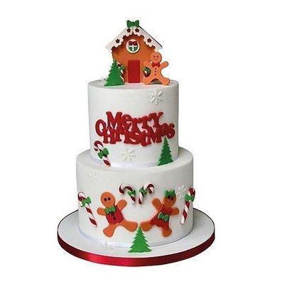 FMM - Curved Words Cutter Merry Christmas - Κουπάτ Κυρτό Καλά Χριστούγεννα - 160x60χιλ