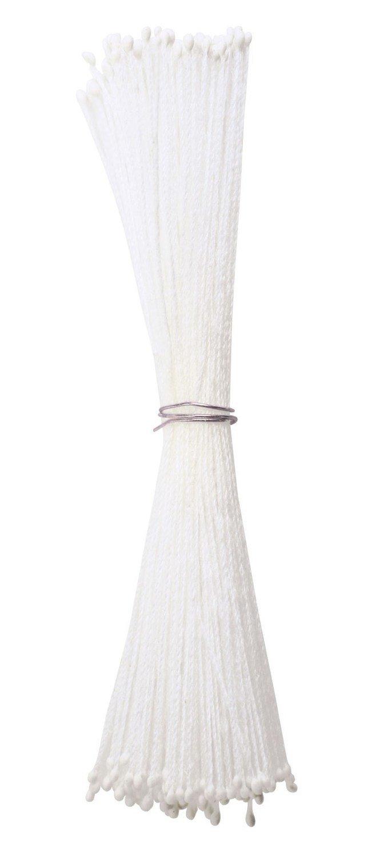 Culpitt -Stamens White Micro - Στήμονες Πολύ Μικρές Διπλής Όψης για Λουλούδια - Λευκό - 72τεμ/πακέτο